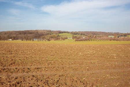 Farmland in the Voeren area close to the Dutch border