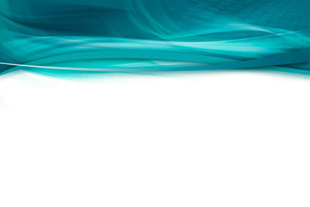 Abstract turquoise and white background with dynamic powerful lines Banco de Imagens
