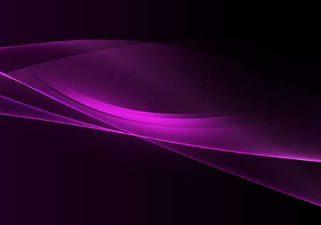 Abstract background waves. Black and purple abstract background for wallpaper or business card 免版税图像