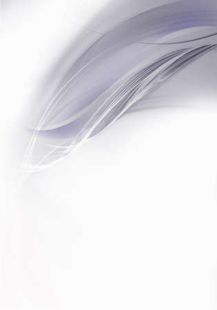 Abstract background waves. White and grey abstract background