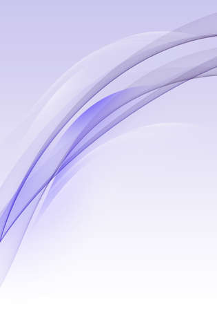Abstract background waves. White and purple abstract background for business card or wallpaper