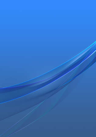 Abstract background waves. Cobalt blue abstract background for wallpaper or business card