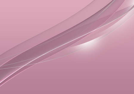 Abstract background waves. White and cameo pink abstract background for business card or wallpaper