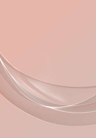 Abstract background waves. Blush pink abstract background for wallpaper or business card