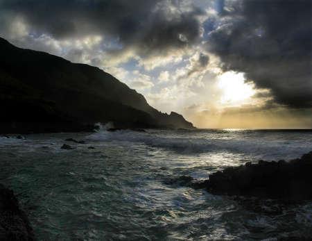 Atlantic stormy day Stock Photo