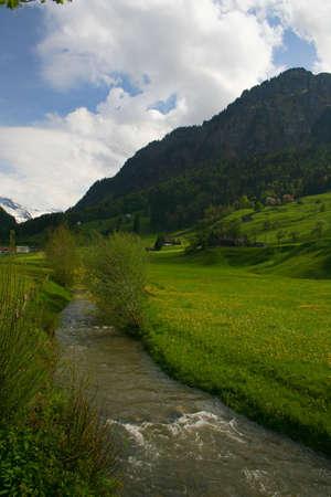 Mountain stream #1 photo