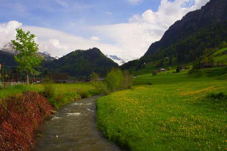 Mountain stream #2 photo