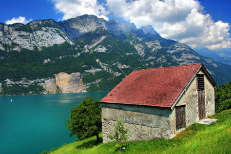 Summer on the Lake Walensee