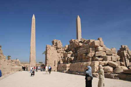 reign: Karnak TEmple area and obelisk