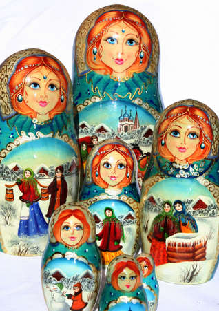Russian Nested dolls Stock Photo - 508265