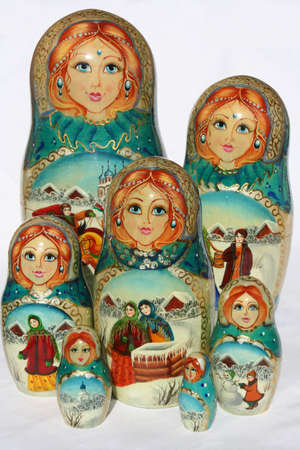 russian Nested dolls Stock Photo - 508200