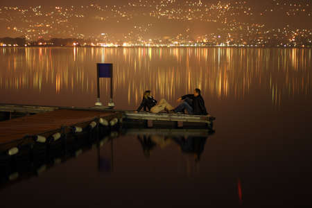 meeting at the midnight on the lake