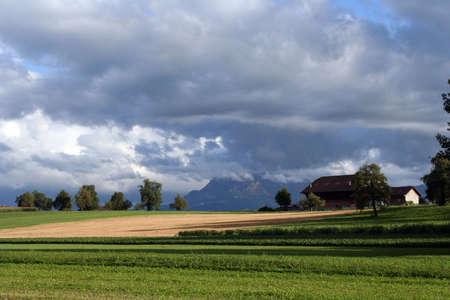 farme: Alpi Svizzere Piene di sole