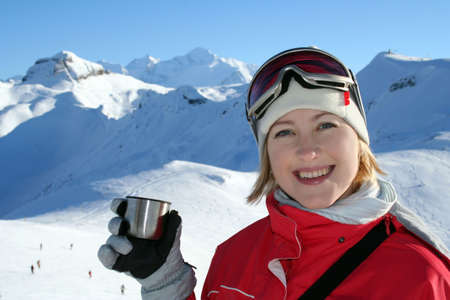 Smiling For Winter Sport Stock Photo - 631842