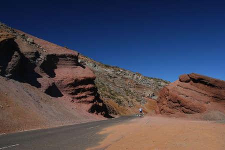 mensch: through the rock with bike