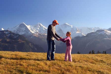 mountains family amusement Stock Photo - 642674