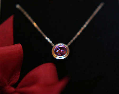pendent: Elegant Violet pendent Stock Photo