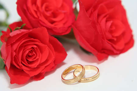 Wedding rings Stock Photo - 742074