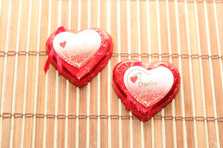 two heart background Stock Photo - 747717