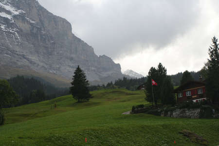 Grindelwald in Alps Stock Photo - 781333
