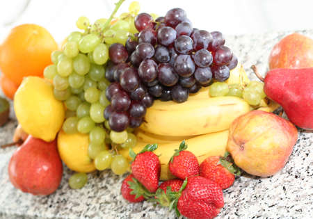 fruits assortment Stock Photo