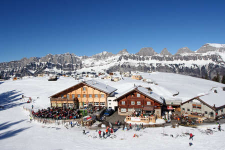 Alpine resort