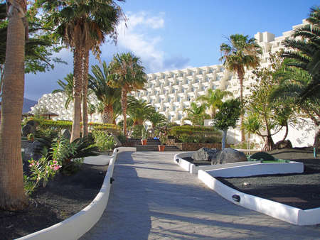 Hotel on Lanzarote
