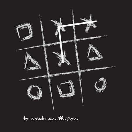 Vektor-Illustration-Ochsen-Spiel mit Typografie-T-Shirt Grafik-Mode-Design auf schwarzem Hintergrund
