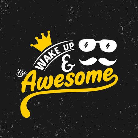 Réveille-toi et sois génial