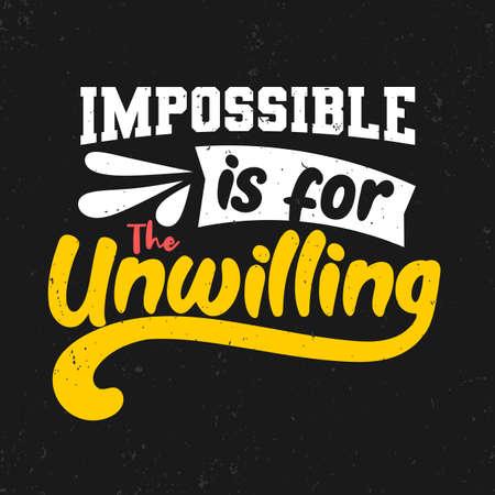 Premium motivational quote