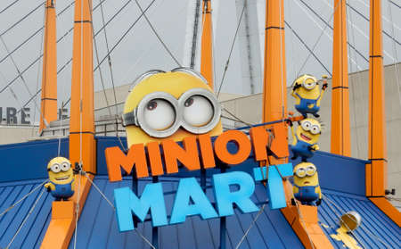 universal: minion at universal studio in Osaka, Japan Editorial