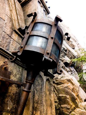 lamp light: light of lamp on wall