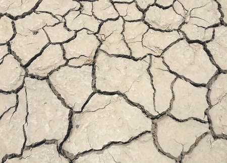 sequias: The cracked and drought ground