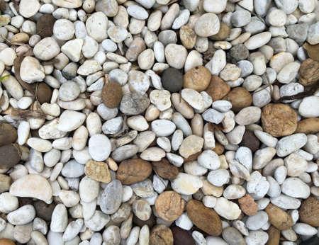 aggregator: small pebble rock background texture Stock Photo