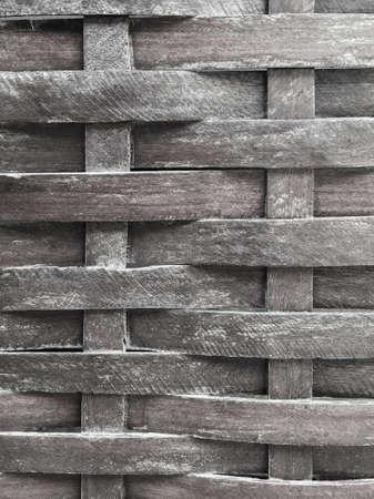 mimbre: mimbre de madera para el fondo