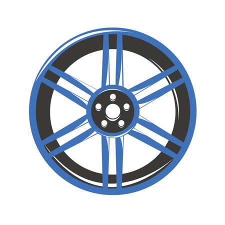 rim: Alloy rim wheel car