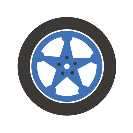 alloy wheel: Car tire Wheel Illustration