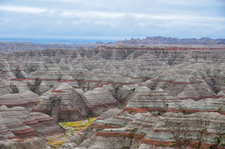 tats: The rock formations of Badlands National Park are impressive and very old