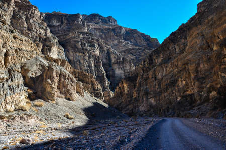 tats: Titus Canyon in Death Valley National Park, California, USA.