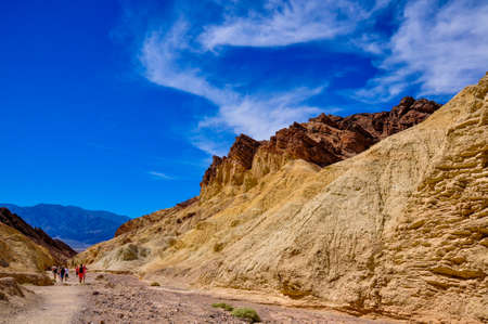 tats: Gold Canyons of Death Valley National Park, California, USA.