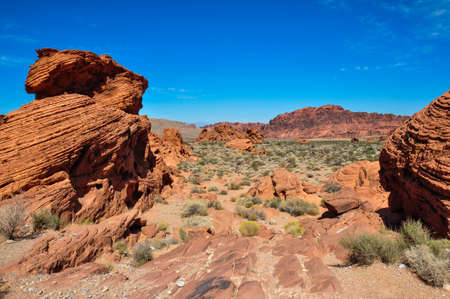 tats: Valley of Fire Provincial Park, Nevada, USA.