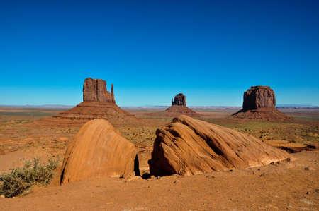 Monument Valley, Arizona, in USA