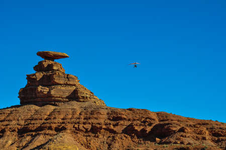 tats: Paragliding at Mexican Hat, Utah, USA.