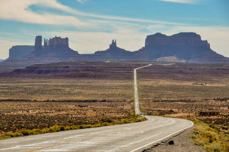 tats: Road trip to Monument Valley, Arizona, USA.