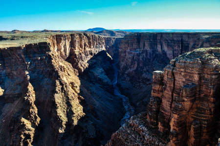 Little Colorado River in Navaja region, Arizona, USA. photo