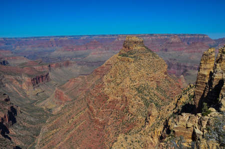 Grand Canyon view from east rim, Arizona, USA. photo