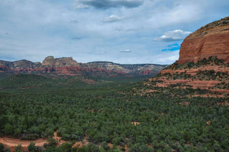 tats: Trekking in Sedona, Arizona, USA.
