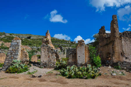 luis: Ruins of Real de Catorce, San Luis Potosi, Mexico.