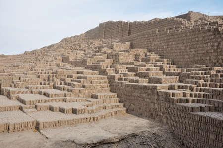 chan: Huaca in Miraflores, Lima, Peru.
