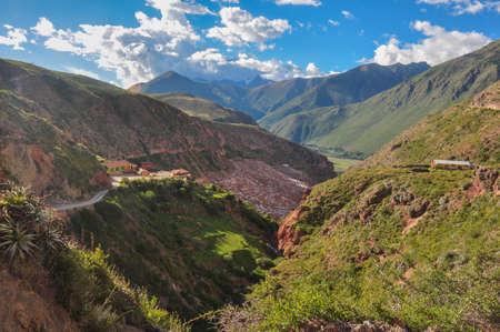 excitation: Salinas de Maras, Sacred Valley, Peru.